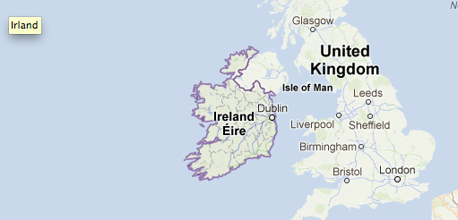 irland karta Information om Irland | Irland irland karta